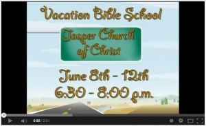 Click to watch the commercials for VBS.